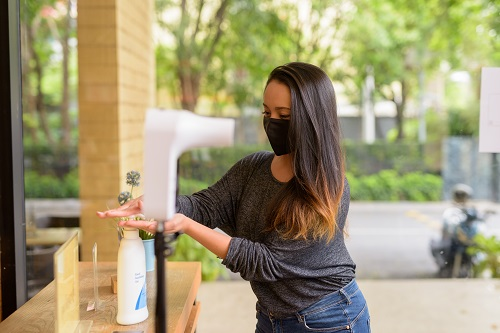 masque sanitaire personnalisable